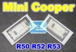 BMW MINI Cooper LED Kennzeichenbeleuchtung