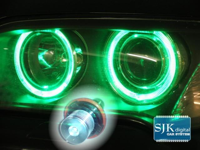Angel Eyes im Xenon Look für BMW in grünn