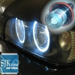 Angel Eyes im Xenon Look für BMW in weiss