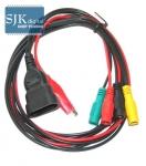 3Pin+1Clip Adapter für Lancia Fiat Alfa-Romeo